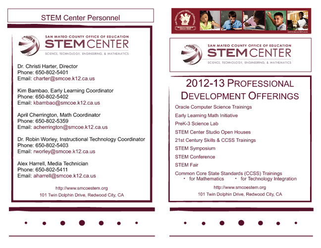 STEM Center 2012-13 Offerings