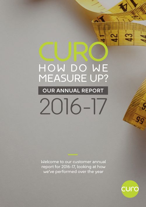 Curo Annual Report 2016-17