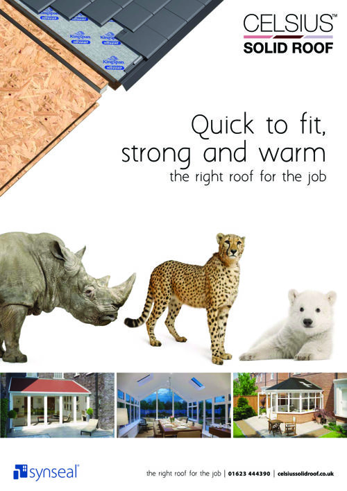 Celsius Solid Roof launch Brochure - single pages