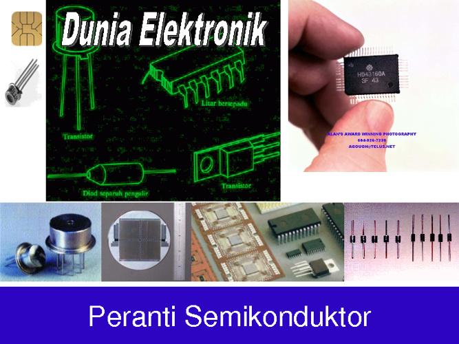 Dunia Elektronik > Peranti Semikonduktor