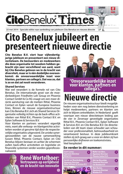 Cito Benelux Magazine
