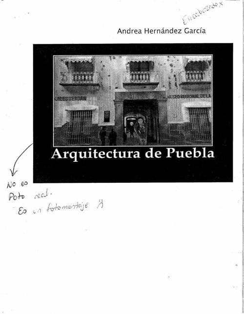 Arquitectura de puebla