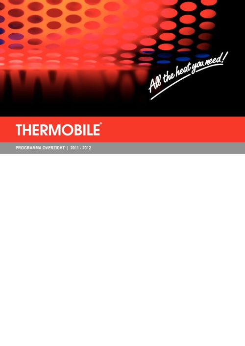 Thermobile catalogus 2011-2012