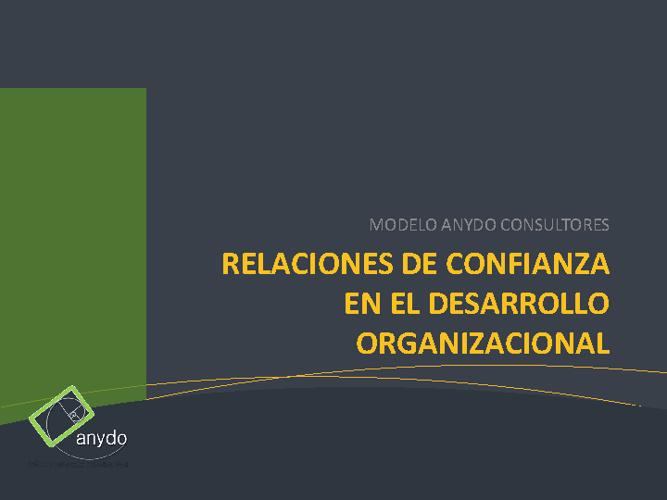 Confianza para Cambio Org.
