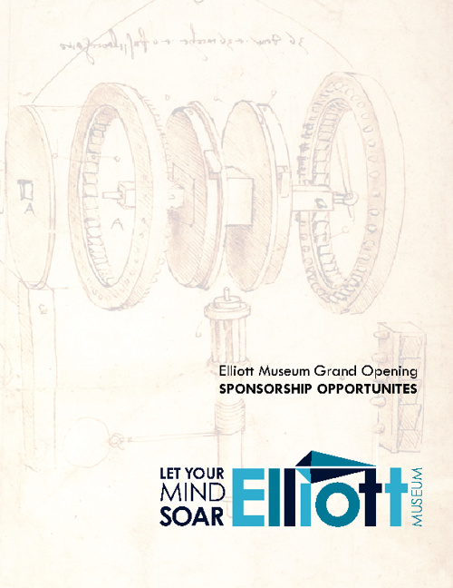 Elliott Museum Grand Opening Sponsorship Opportunities