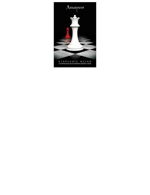 Amanecer, Stephenie Meyer