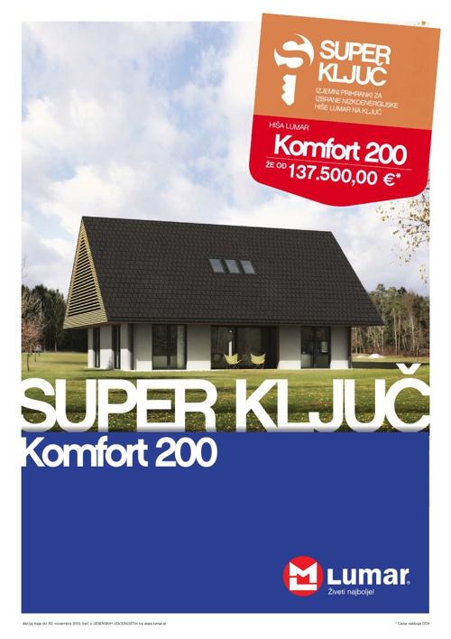 Lumar SuperKljuč Komfort 200