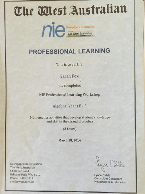 PD certificates