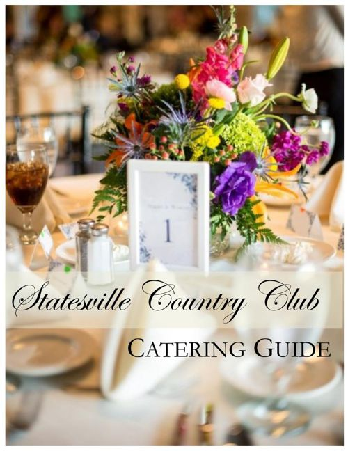 2015 Catering Guide