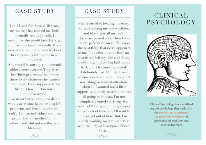 Clinical Psychology Brochure