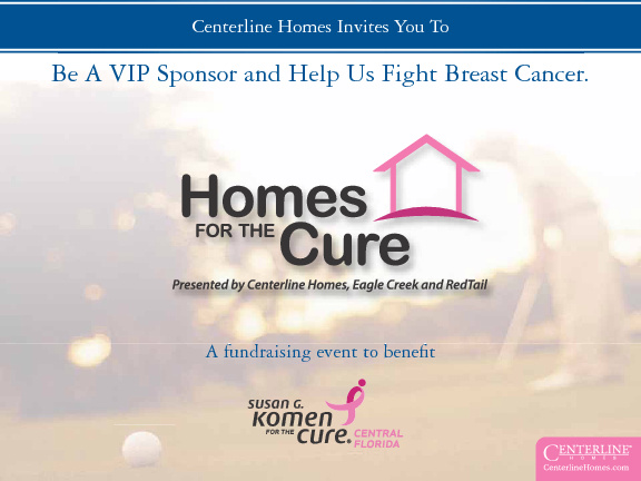 Centerline Homes For The Cure Flipbook