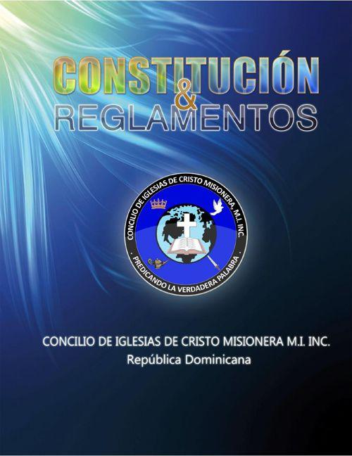 Constitucion CICM MI