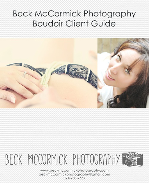 Boudoir Guide -Beck McCormick Photography