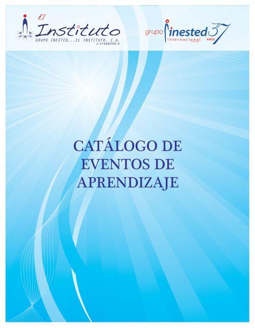 Catálogo de eventos de aprendizaje