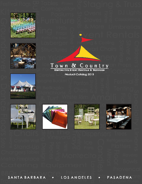 Town & Country Event Rentals Product Catalog 2013
