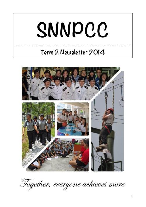 SNNPCC_Term 2 Newsletter