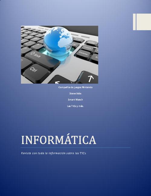Revista Informática I