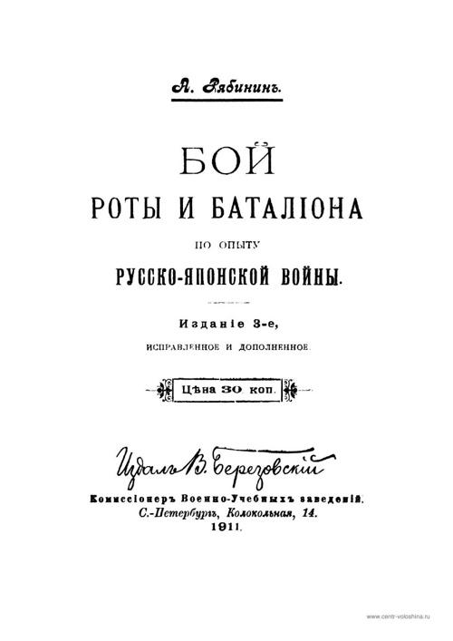 Книги о Русско-Японской войне