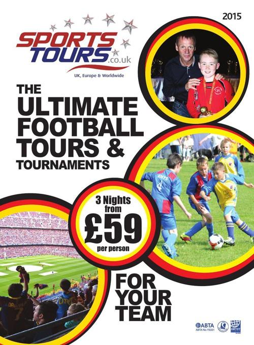 Football Brochure 2015 - Sports Tours UK & EU