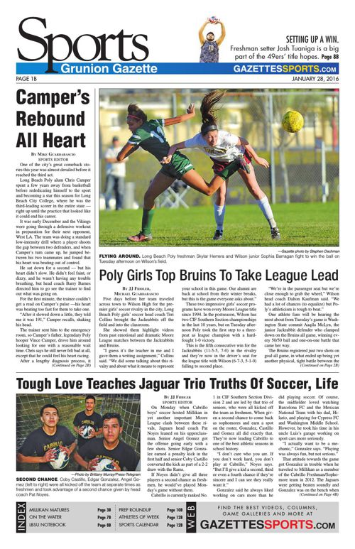Gazette Sports | January 28, 2016