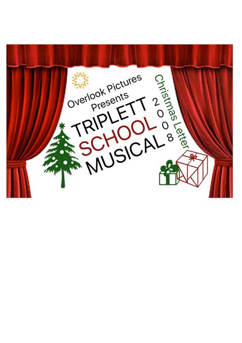 2008 Triplett Christmas Letter