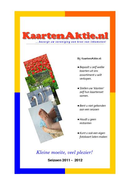 KaartenAktie 2011-2012