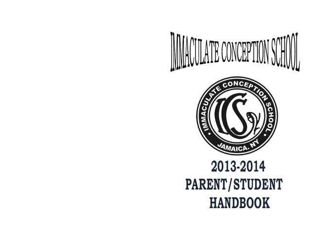2013 - 2014 Parent/Student Handbook