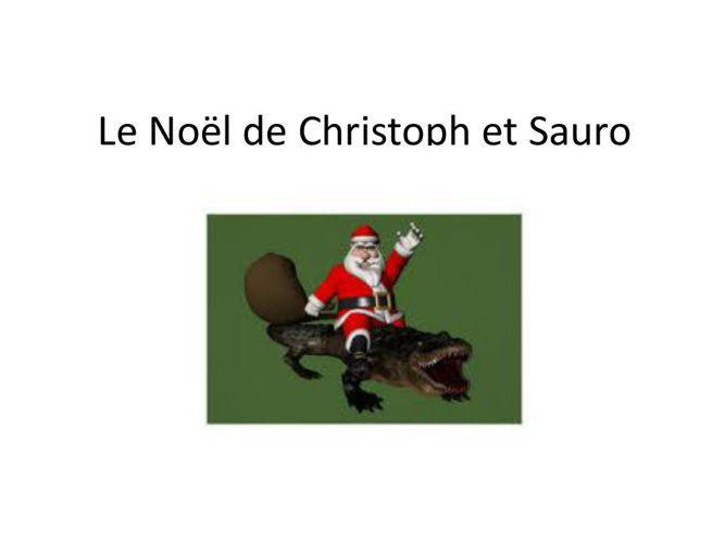 """""""Le Noël de Christoph et Sauro"""""""