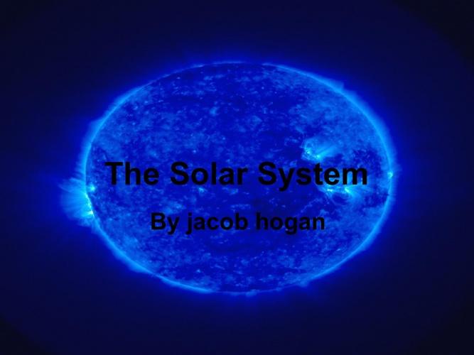 solar system by jacob