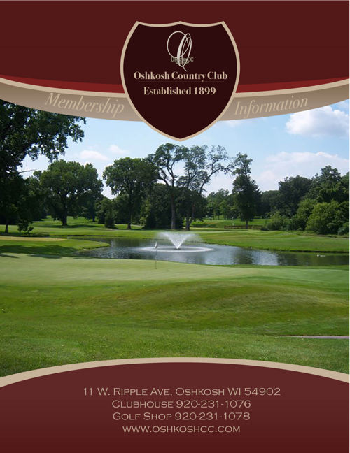 Oshkosh Country Club Membership Information