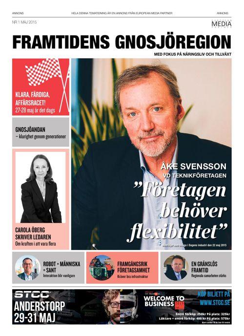 Dagens Industribilaga: Framtidens Gnosjöregion