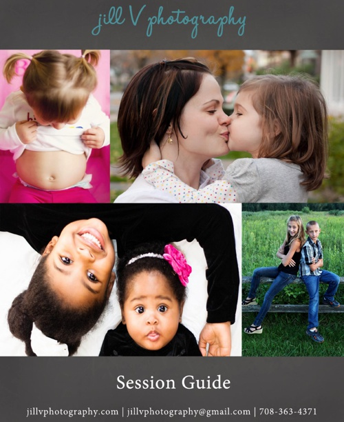 Jill V Photography Session Guide