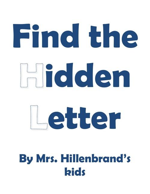 MT Hillenbrand hidden letter book 2012-2013