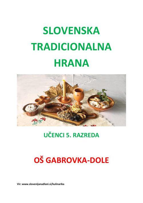 Slovenska tradicionalna hrana