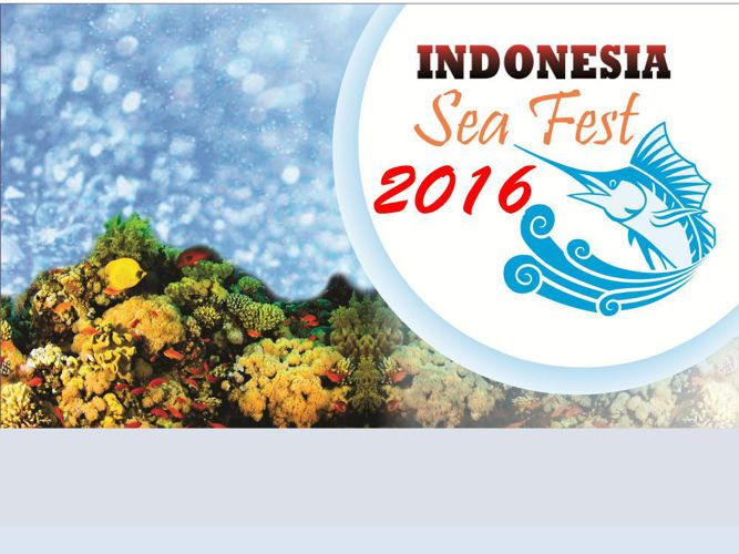 Presentasi Indonesia Sea Fest 2016