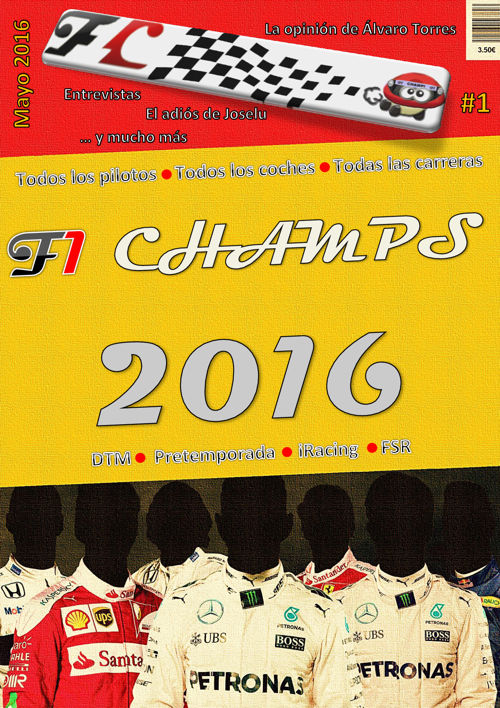 Revista Pretemporada  F1Champs 2016(1 de 3)