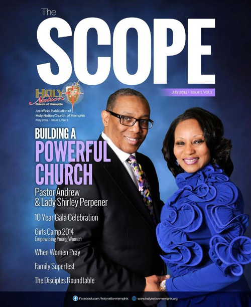 THE SCOPE MAGAZINE Print Media of Holy Nation Church