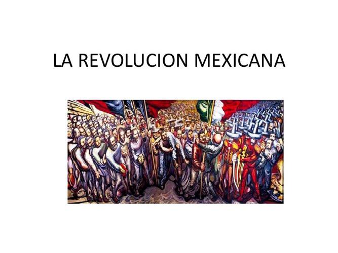 LA REVOLUCION MEXICANA CHAIX