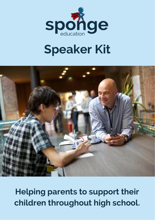 Speaking kit for parents