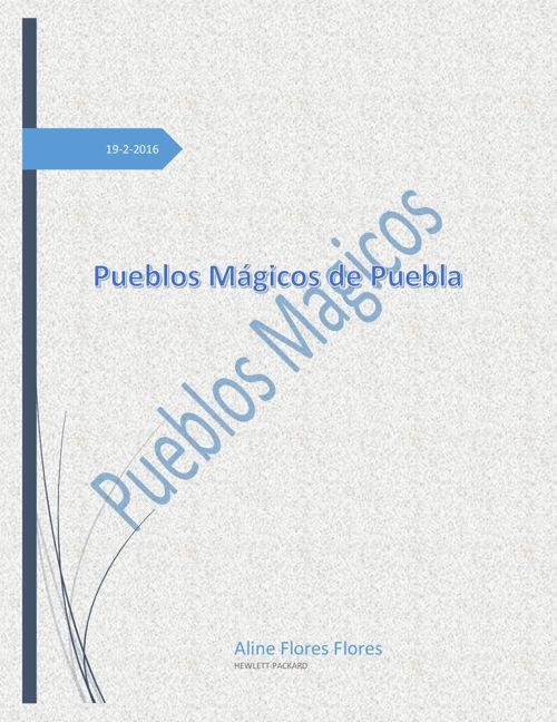 Pueblos mágicos de Puebla (1)