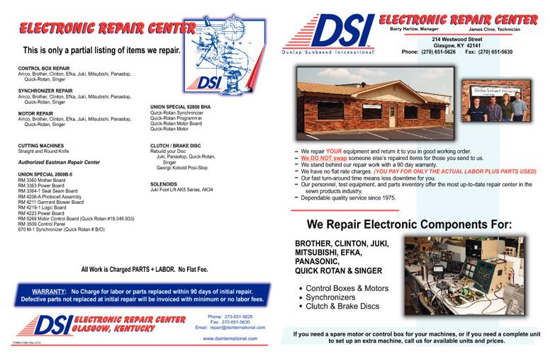 Electronic Repair Catalg