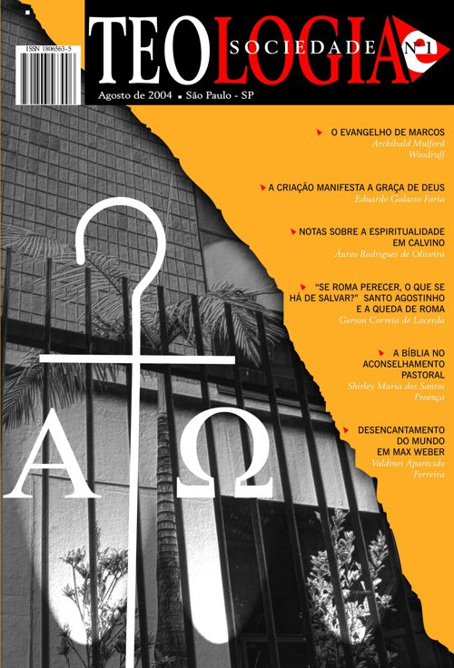 Revista Teologia e Sociedade nº 1