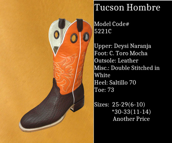 Tucson Hombre by Billy Boots Cowboy Boots