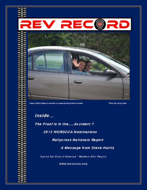 October 2012 Rev Record