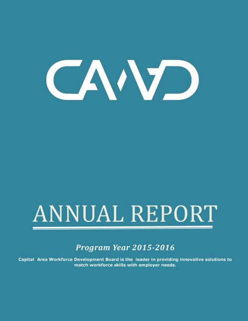 Capital Area Workforce Development Annual Report 2016