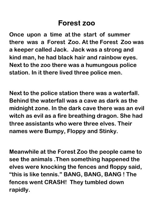 The Forest Zoo