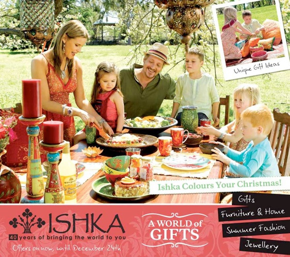 Ishka Colours Your Christmas-2011