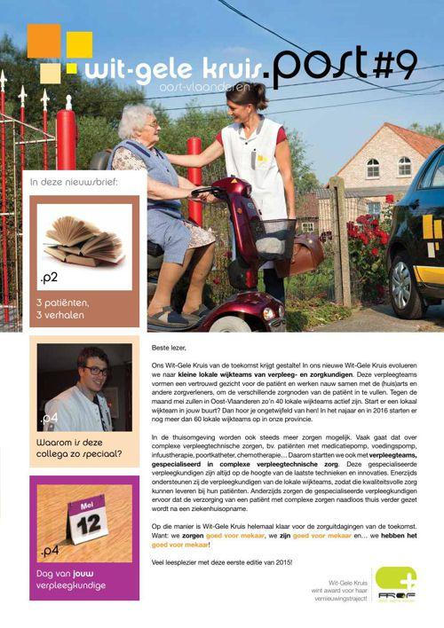 Kruispost 9 - Nieuwsbrief Wit-Gele Kruis Oost-Vlaanderen