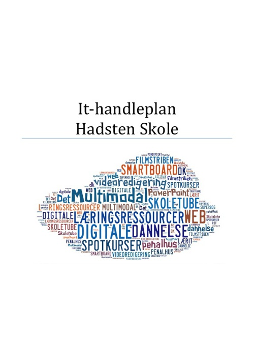 It-handleplan Hadsten Skole