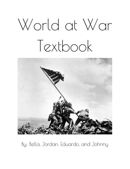 World at war Textbook
